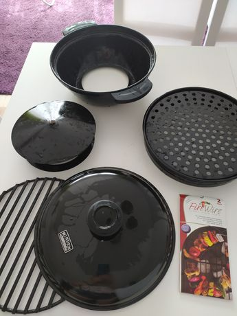 Grill na kuchenkę gazową, płytę ceramiczną