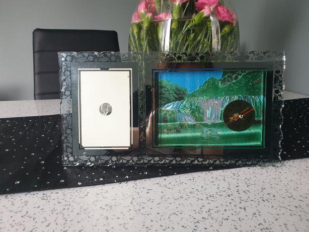 Zegar z ramką na zdjęcie