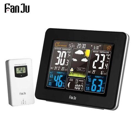 Метеостанція прогноз погоди FanJu FJ3365 гігрометр з температурою