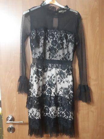 Nowa sukienka z koronki rozm s
