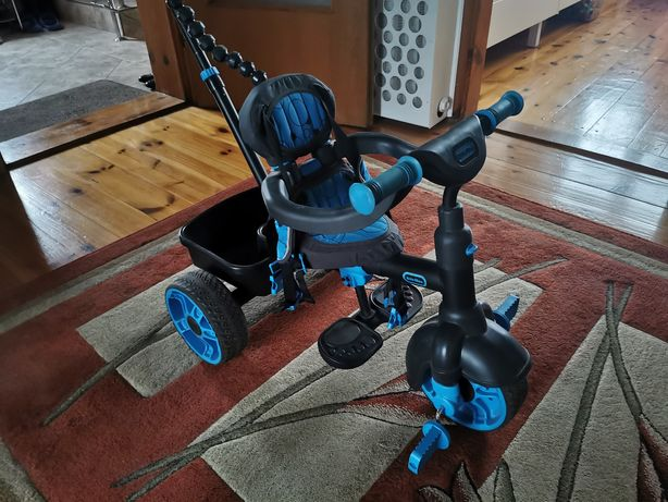 Rowerek dla dziecka trzy kołowy z funkcją sterowania rączka