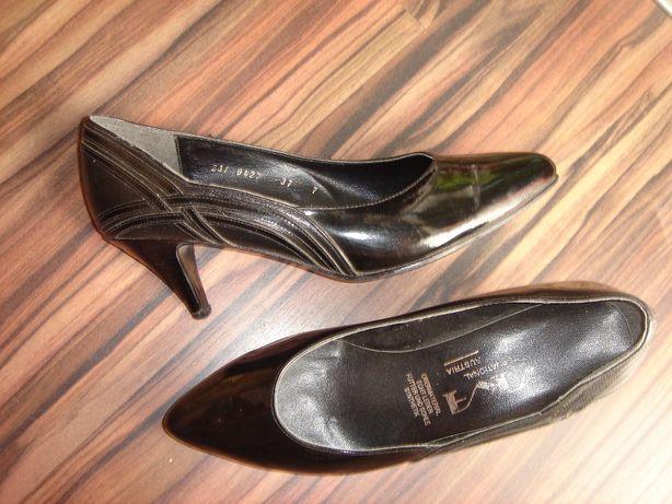 черные туфли кожаные лаковые 36 размера