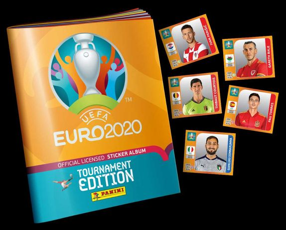 Compro Cromos Panini Euro 2020 Tournament Edition