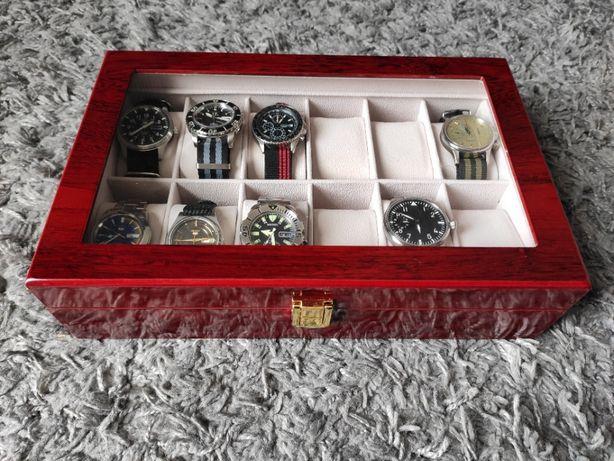 Szkatułka na 12 zegarków