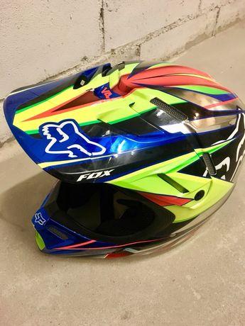 Kask motocyklowy cross oryginalny FOX V4