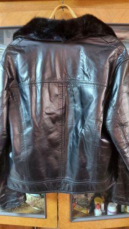 Куртка кожна натуральна