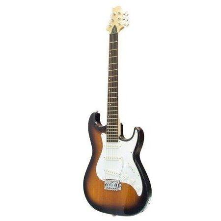 Gitara elektryczna Samick MB-1 TS podpalana