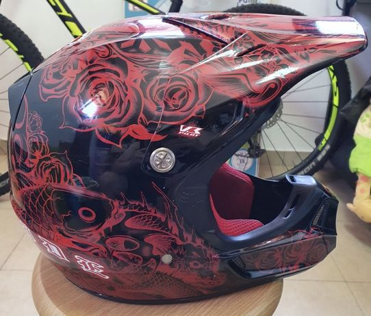 Fox V3 Pilot - Capacete Off-Road / Motocross / Enduro