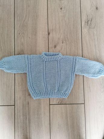 Sweter sweterek wełniany 56/62