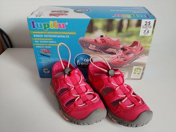 Sandały buty outdoorowe Lupilu r. 25 różowe