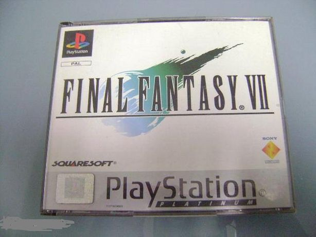 Jogo Ps1 Final Fantasy VII 7 50.00