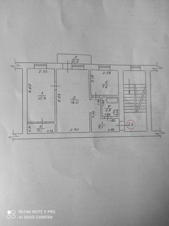 Продам 2-комн. квартиру с инд. газовым отоплением