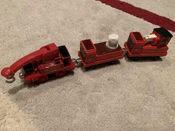 Lokomotywa Harvey wagony ratownicze Tomek i przyjaciele Thomas & Fr.