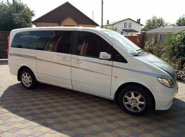 Аренда микроавтобуса пассажирские перевозки заказ Mercedes Vito Viano