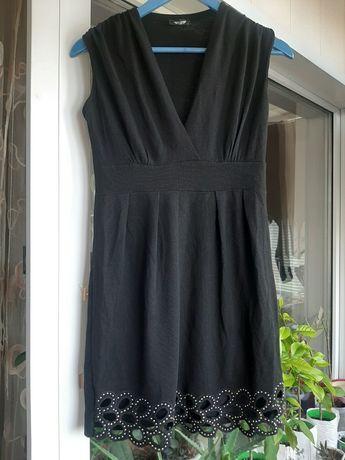 Платье черное с поясом T.A.T.U