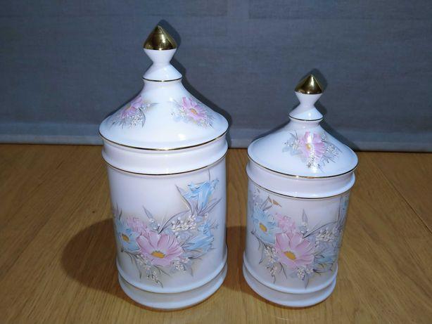 Potes decorativos de Porcelana Spodart