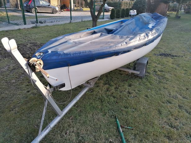 Łódka wędkarska  plus silnik