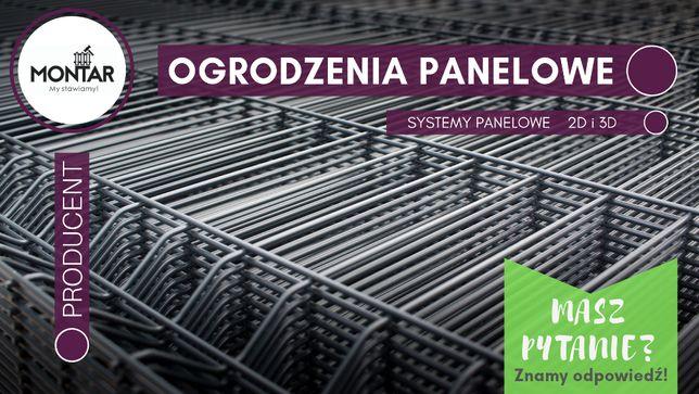 OGRODZENIE PANELOWE 3D- producent | gwarancja 5 LAT | bramy&furtki