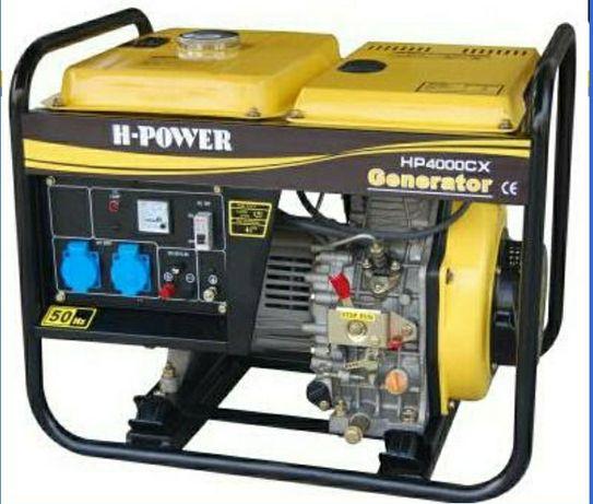 Дизельный генератор  HP6500CXE
