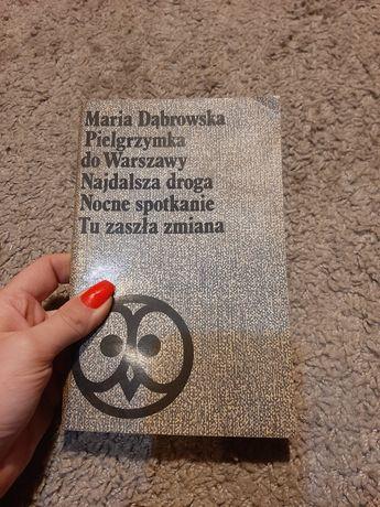 Maria Dąbrowska Pielgrzymka do Warszawy, Najdalsze droga, Nocne spotka
