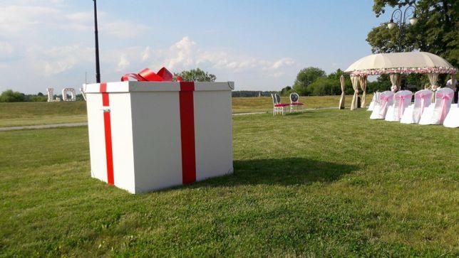 Gigantyczny prezent dla Młodej Pary-Pudło z balonami Time4Fun!Radom