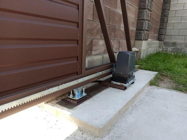Автоматика для откатных ворот, двигатель на ворота, откатные ворота