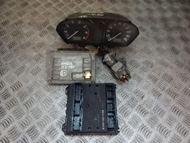Skoda Fabia 1,2 12V komputer stacyjka licznik