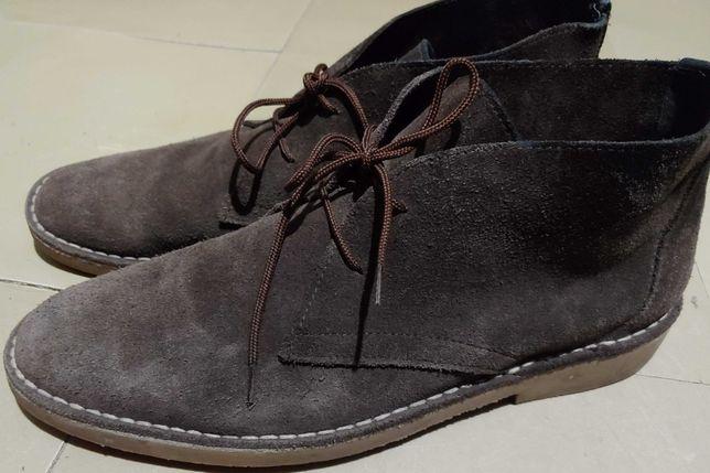 ботинки Topman 44р. 28,5см нат. кожа, замша