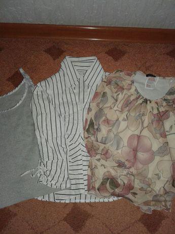 Продам женские футболки,рубашки,кофточки 3шт=90грн