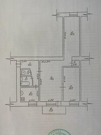 Трёхкомнатная квартира в центре, квартира Прилуки