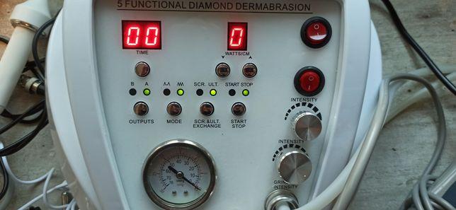 Kombajn 5w1 mikrodermabrazja