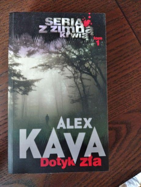 Dotyk zła, Alex Kava, seria z zimną krwią tom 1