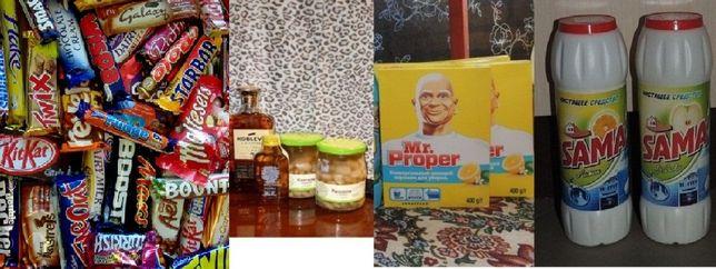 Обменяю сладости продукты питания