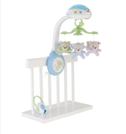 Karuzela z misiami Fisher Price
