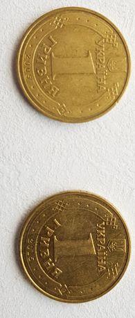 Монети 1 гривня