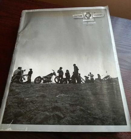 Książka Instrukcja Katalog Custom Chrome Europe Harley Davidson