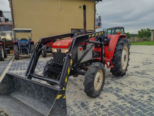 Mini Traktor Yanmar Us39 39km 4x4 z ładowaczem czołowym tur