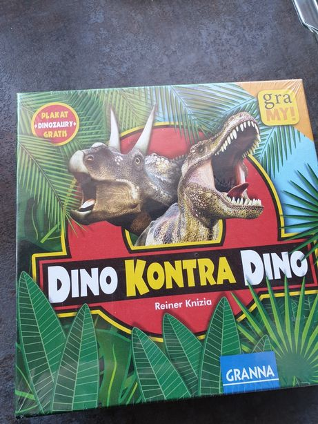 Nowa gra granna Dino kontra Dino