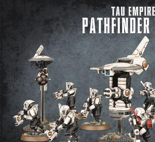 Tau Empire Pathfinder Team Warhammer 40 000
