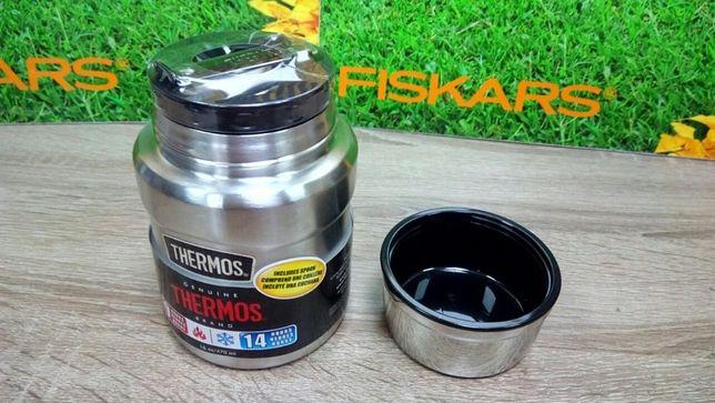 Термос для еды с ложкой Thermos Stainless King Food 470 ml 173025