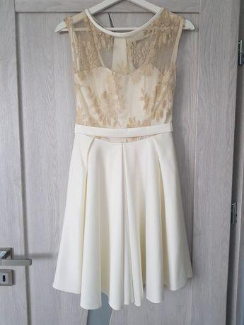 Sukienka weselna rozmiar S