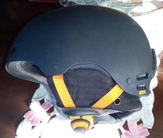 Kask snowboardowy ANON RAIDER (black)