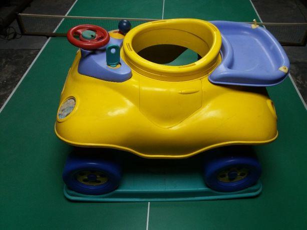Игровой манеж машина для ребенка