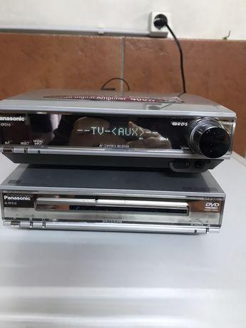 amplificador/ dvd panasonic sa-dt310