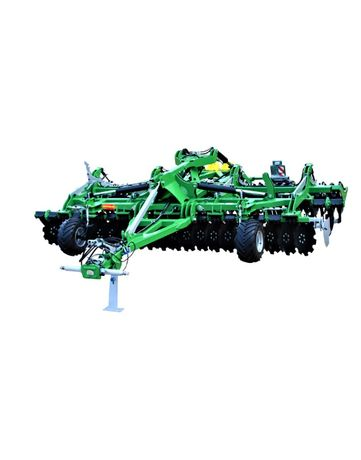 Brona kompaktowa hydraulicznie składana MEGATRON 5m - Baras