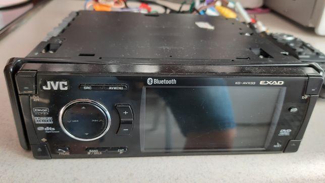 Radio samochodowe JVC DVD Bluetooth
