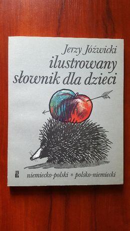 słownik dla dzieci ilustrowany niemiecko polski polsko niemiecki