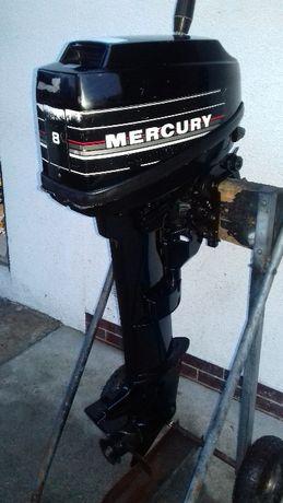 Silnik zaburtowy Mercury 8 KM 2- suw stopa L Szwajcaria FILM
