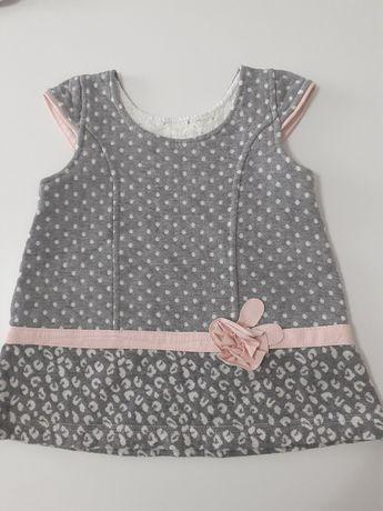 ubranka dziwecięce rozm 68 sukienki, body, bluzy