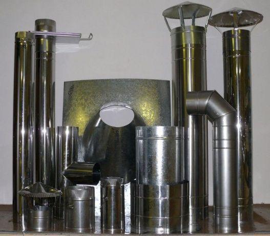 Дымоходы, дымоходные трубы из нержавейки
